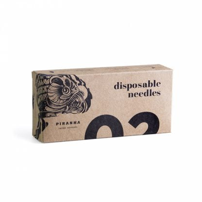 Sterile Tattoo Needles Line. Homologated For The Rest Of Europe.