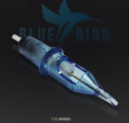 Agujas de Cartucho con Membrana Blue Bird RS