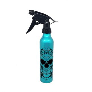 Green Decorated Aluminum Spray Bottle