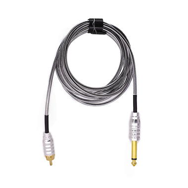 RCA Cable SnakeKing in flexible stainless steel 2.1M