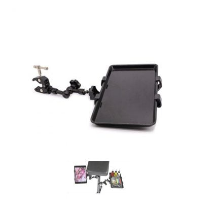 Mini tablet holder and / or tray